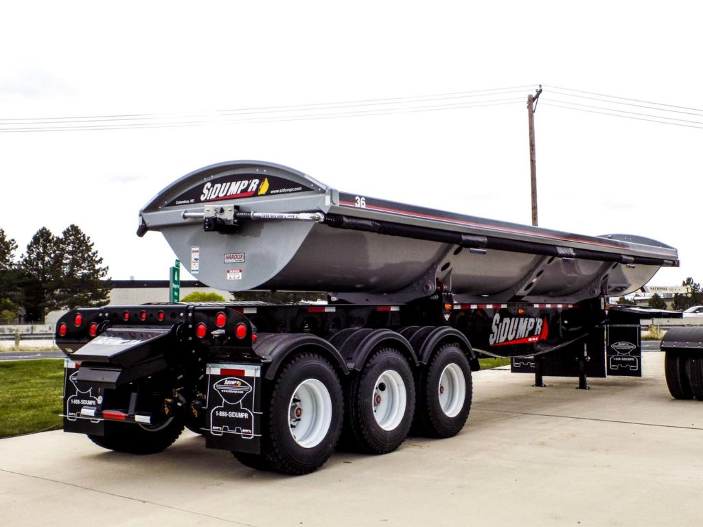 2018 SIDUMP'R TRIDEM SIDE DUMP TRAILER