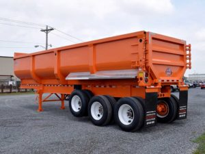 NEW CTS SCRAP MASTER END DUMP TRAILER