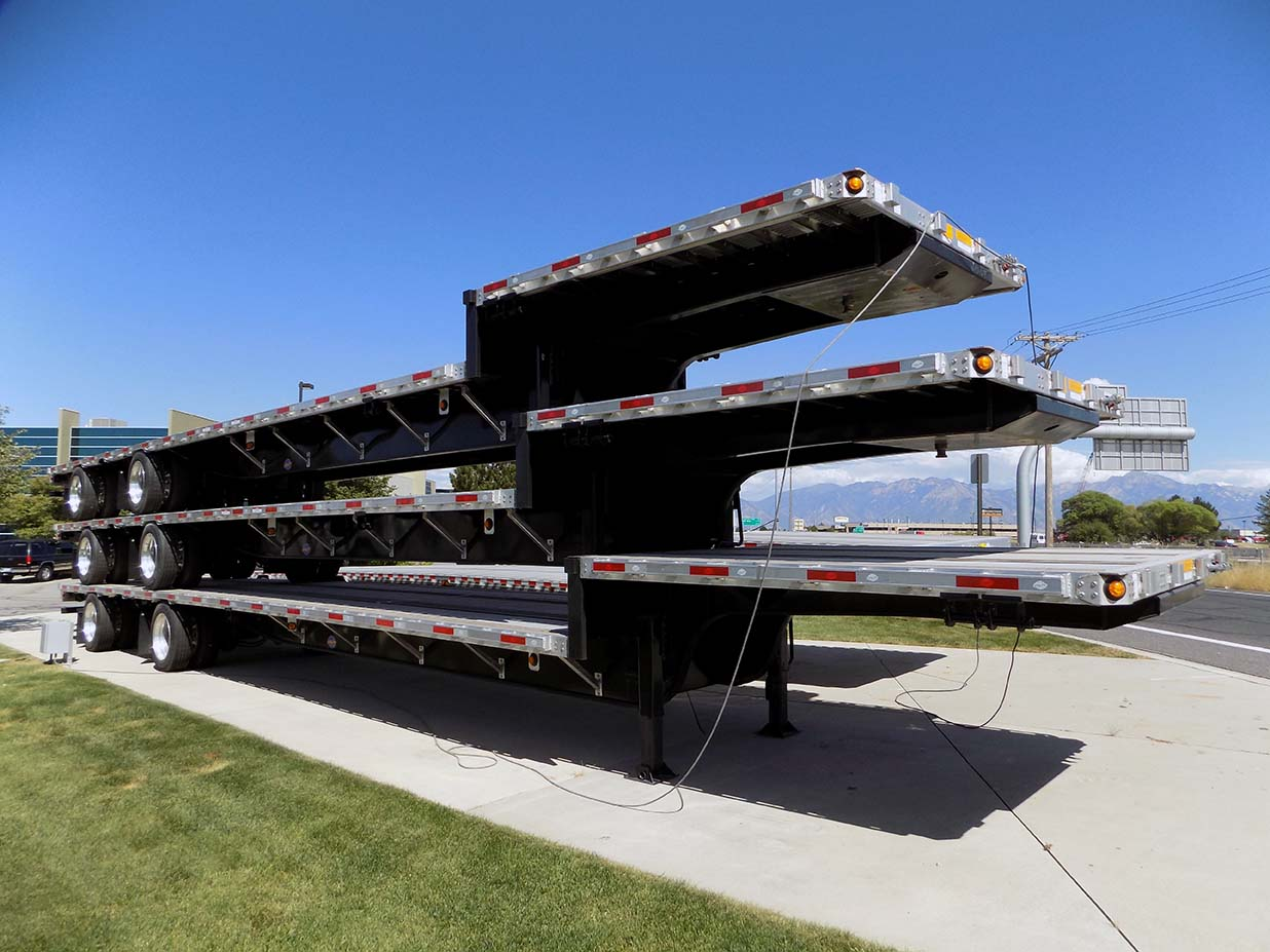 2019 Utility 48 Or 53 Drop Deck Trailer Utility