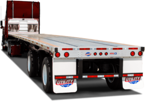 UTILITY TRAILER 4000AE DROP DECK FLATBED